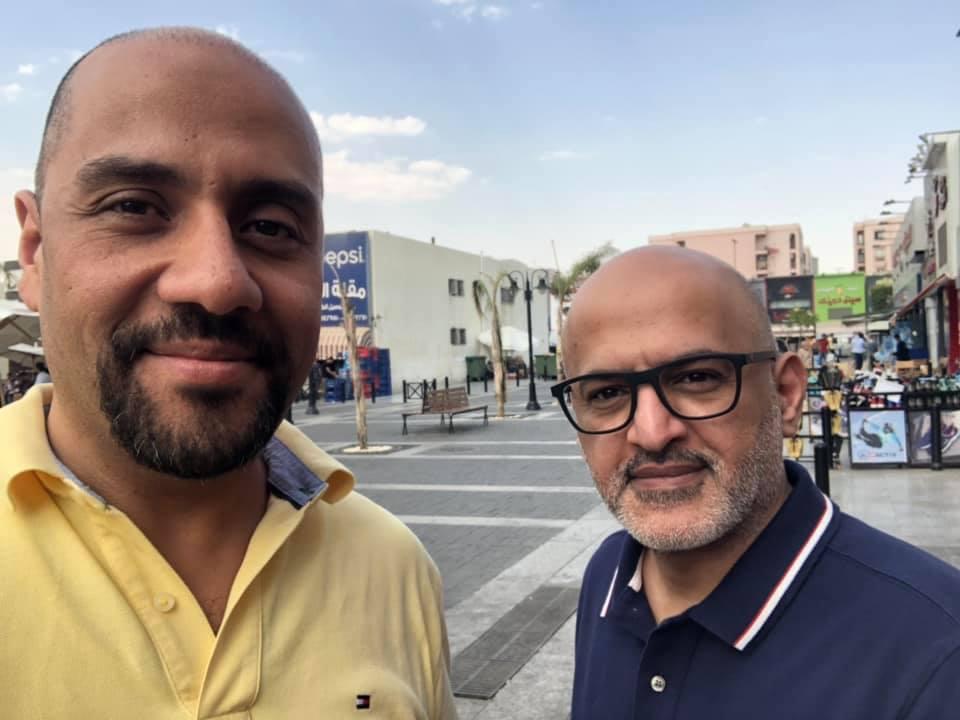 ابو نواف سعد الخضيري و محمد حسام خضر انترنت بلس